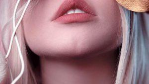 Labbra ragazza